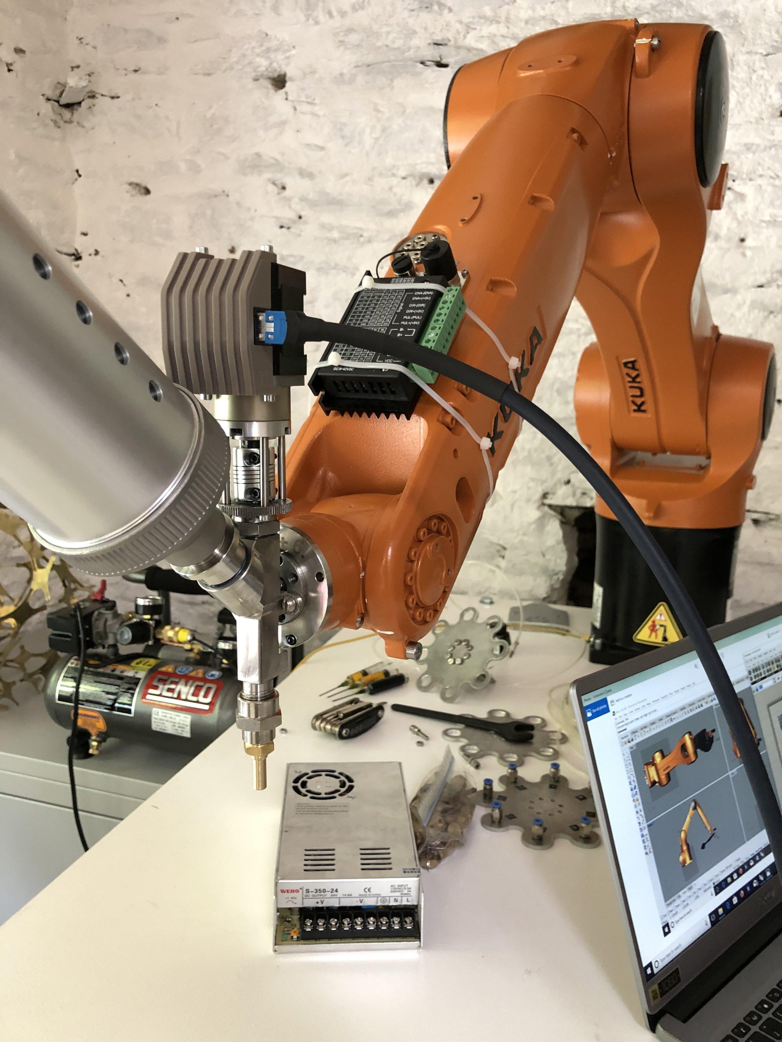 KUKA robot