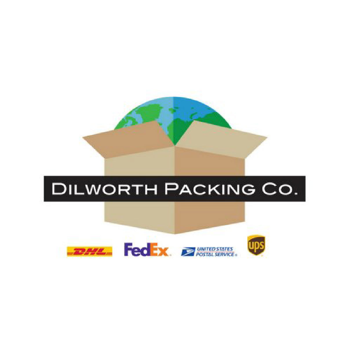 Dilworth Packing Company receive 15% off to ship and 15% off boxes/packing items. PO Box offer; for every 6 months you rent a mailbox, you get 1 month free. They also offer lamination services.