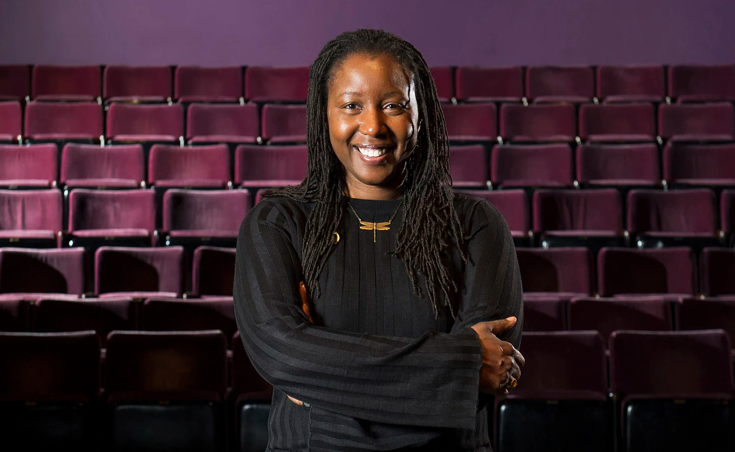 Nataki Garrett, Associate Artistic Director at DCPA. (Photo by Daniel Benner.)