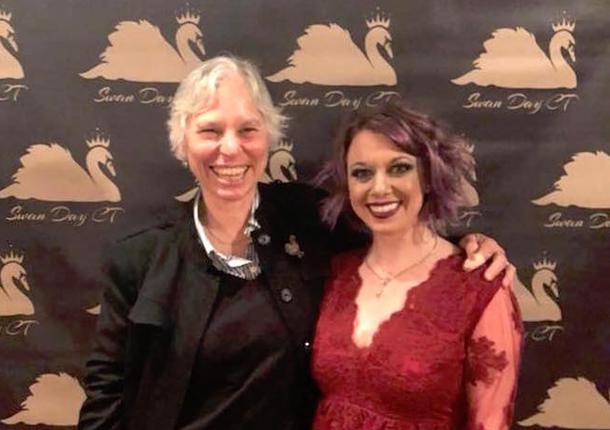 Martha Richards & SWAN Organizer Jennifer Hill at SWAN Day CT 2018