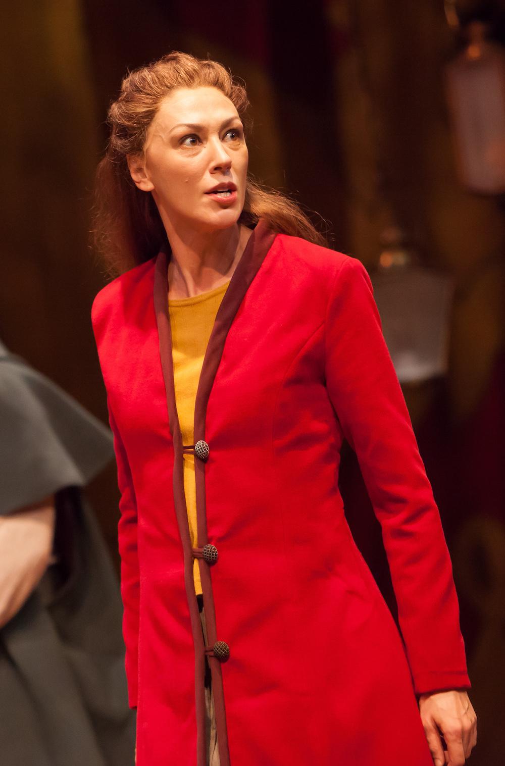 Vanessa Morosco as Westmoreland in  Henry V . (Photo credit Jennifer Koskinen)