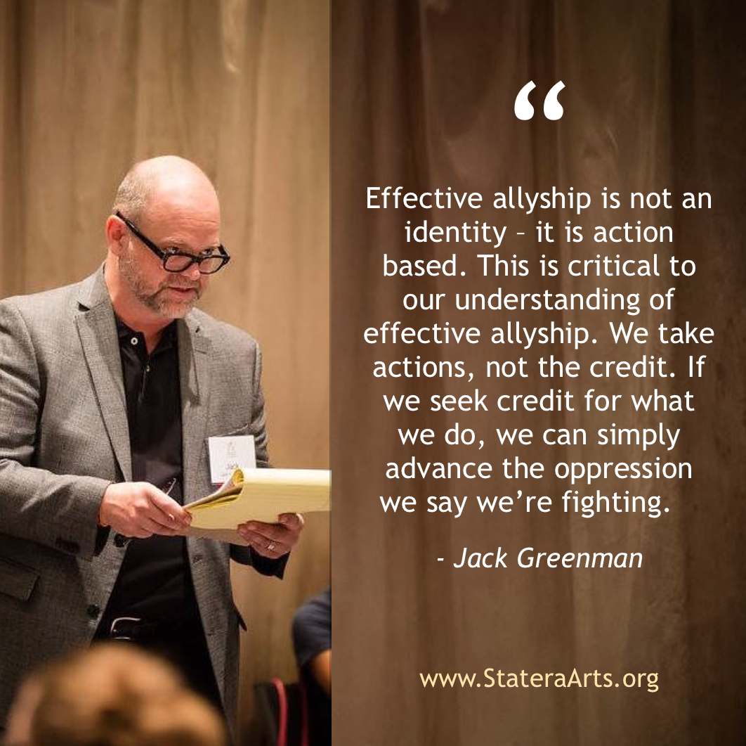 Jack Greenman moderating a panel discussion at Statera's 2016 National Conference in Denver, Colorado. (Photo by Malloree Delayne Hill)