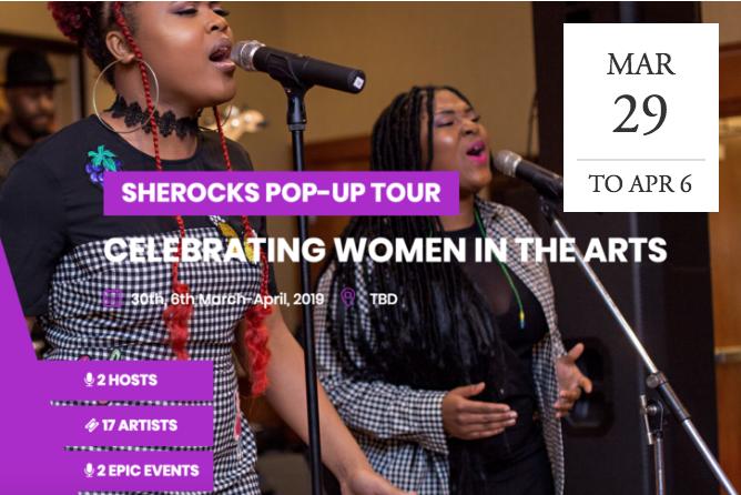 SheRocks Pop-Up Tour - NYC & DC