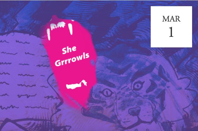 She Grrrowls: March Open Mic - London, UK