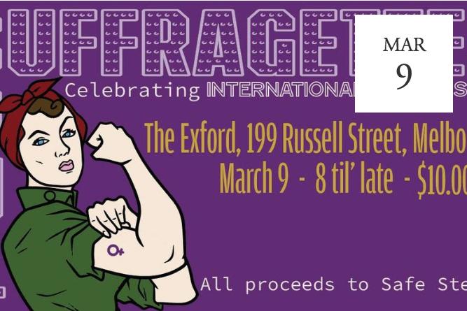 Soul Suffragettes, Celebrating International Women's Day - Melbourne, Australia