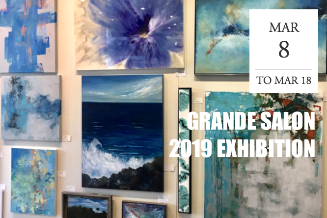 "The Southwest Florida Watercolor Society ""Grande Salon 2019 Exhibition"" - Estero, FL"