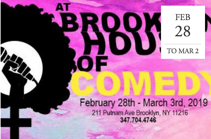 The Black Women in Comedy Festival - Brooklyn, NY