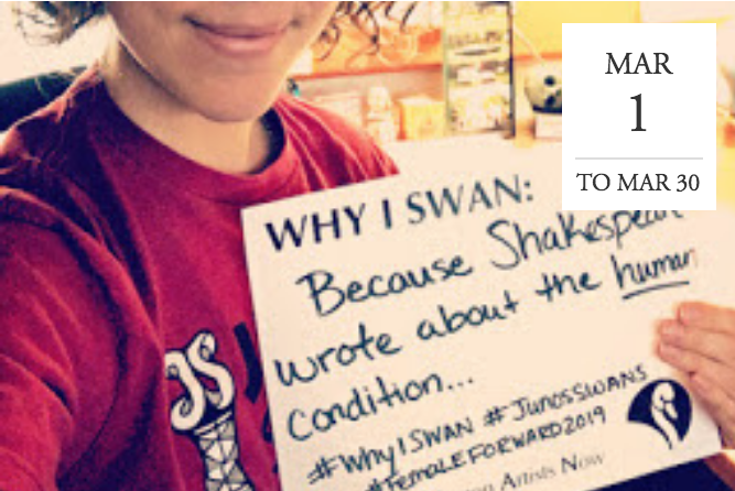#WhyISWAN by Nebraska Shakespeare - Online & Everywhere