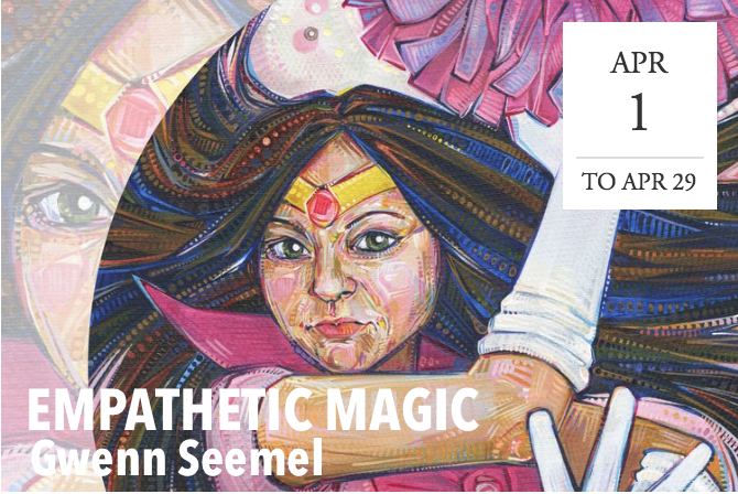 Empathetic Magic: Art by Gwenn Seemel - Burlington, NJ