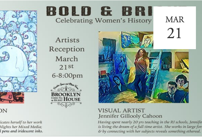 Bold & Bright: Artist Opening Reception and Exhibition - Providence, RI