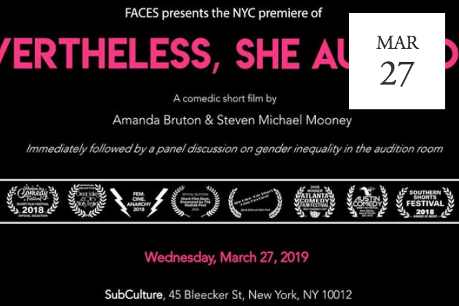 Nevertheless, She Auditioned: Short Film & Industry Panel - NYC