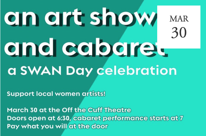 Collective Voices: an Art Show & Cabaret at Off the Cuff Theatre - Cedar City, UT