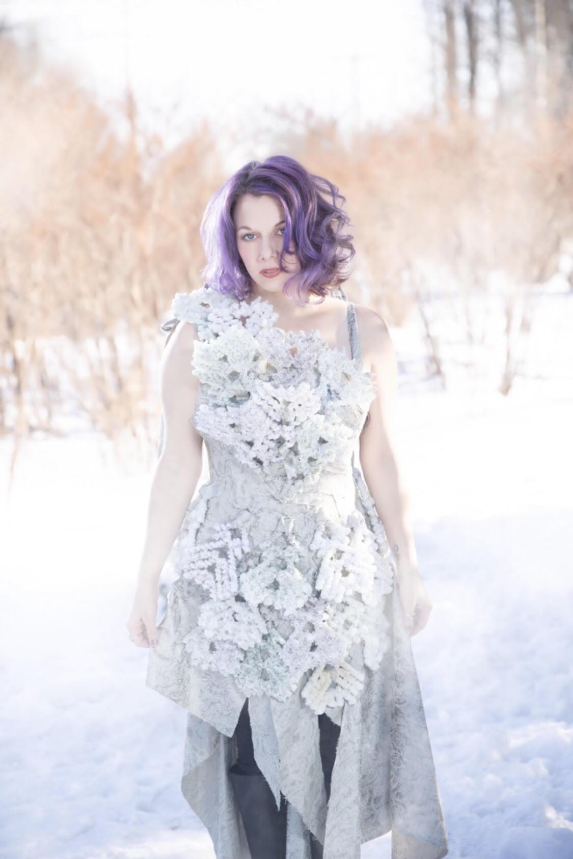 Jennifer Hill (Photo by Mandi Martini and Dress by Kristin Costa