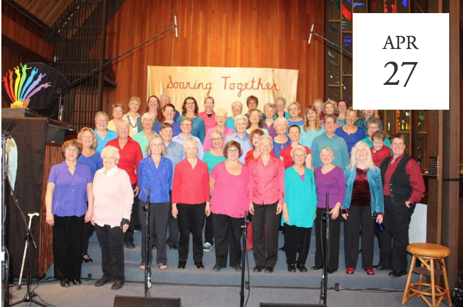 Women With Wings Choir: Together We Are One - Ashland, OR