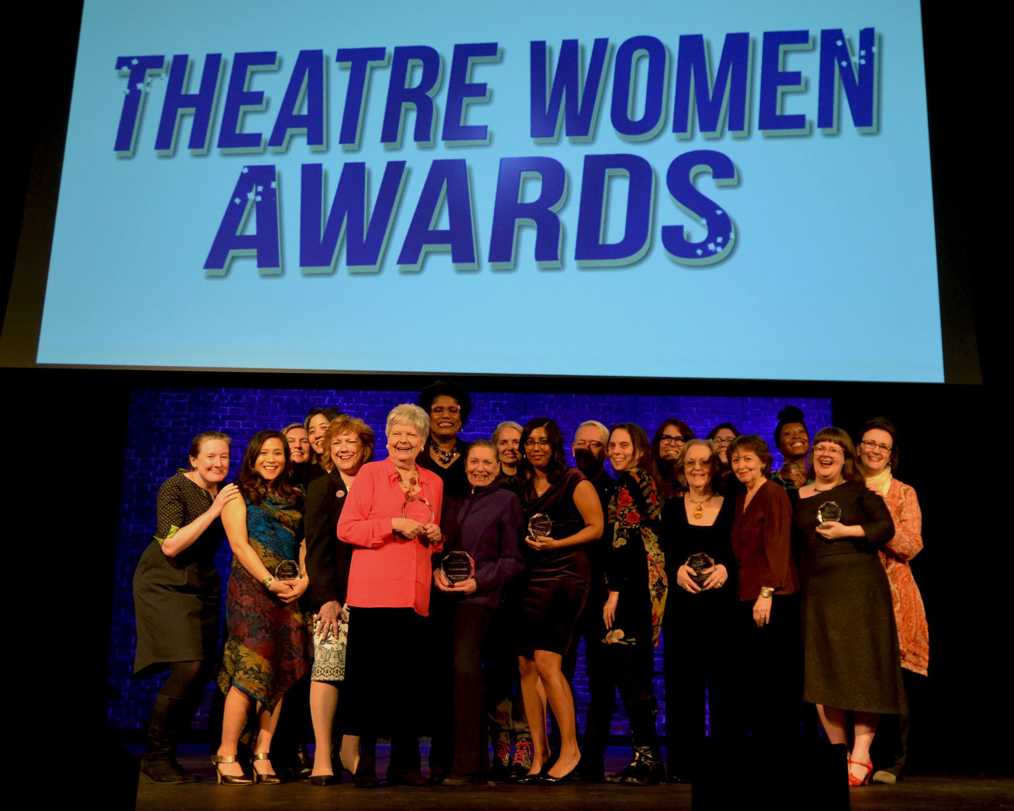 Recipients of the Theatre Women Awards