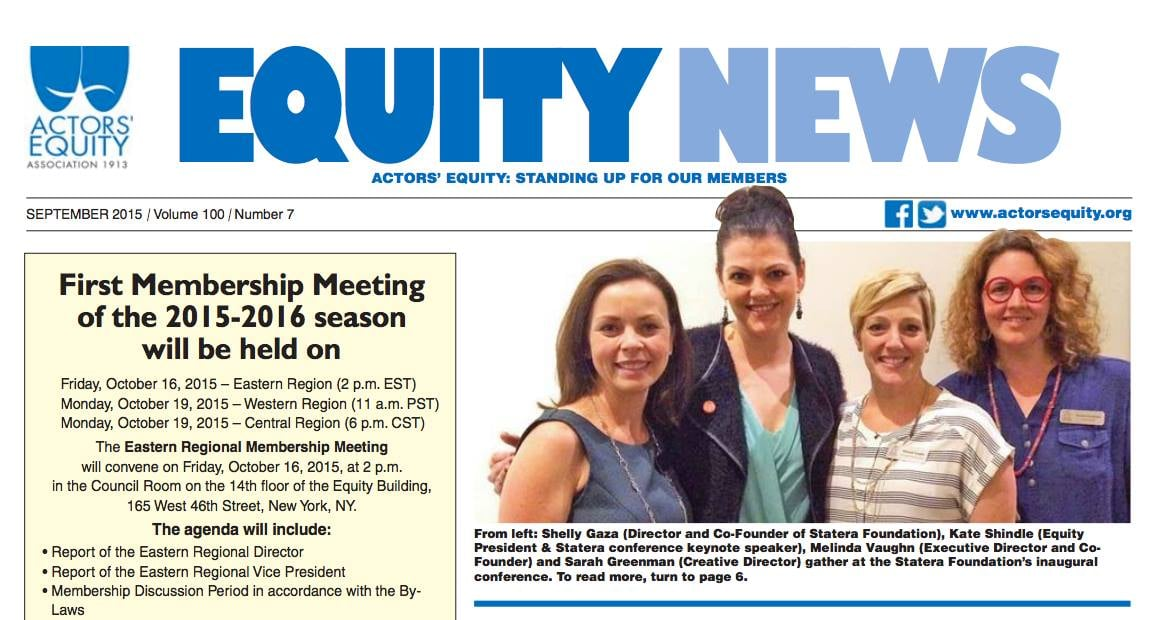 Equity News September 2015
