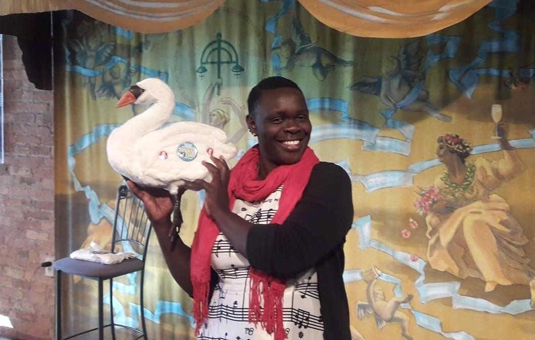 Sophie Dowllar Ogutu during Statera's 2018 SWAN Day Convening in Milwaukee.