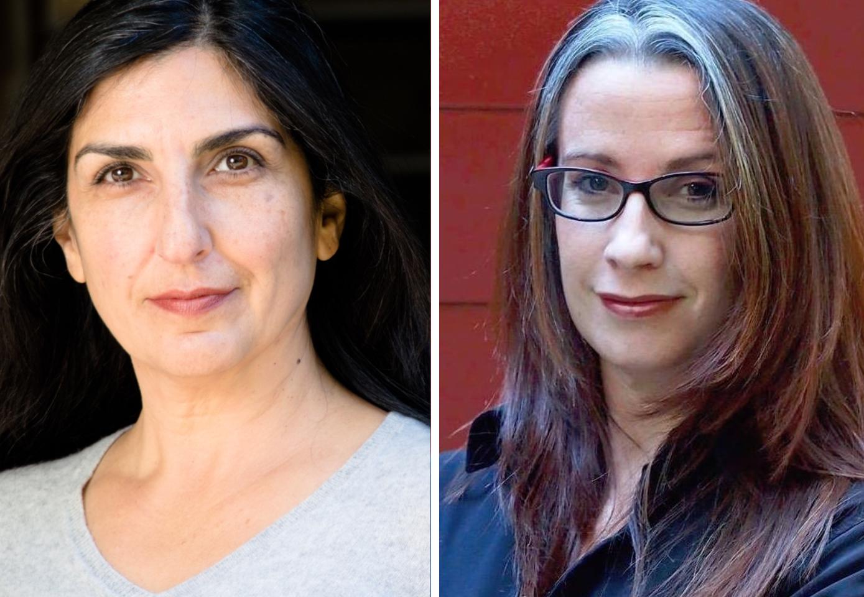 Janet Hayatshahi (left) and Kirsten Brandt (right)