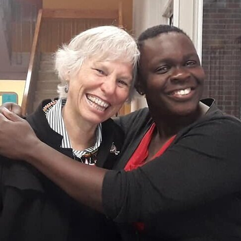 Martha Richards & Sophie Dowllar Ogutu