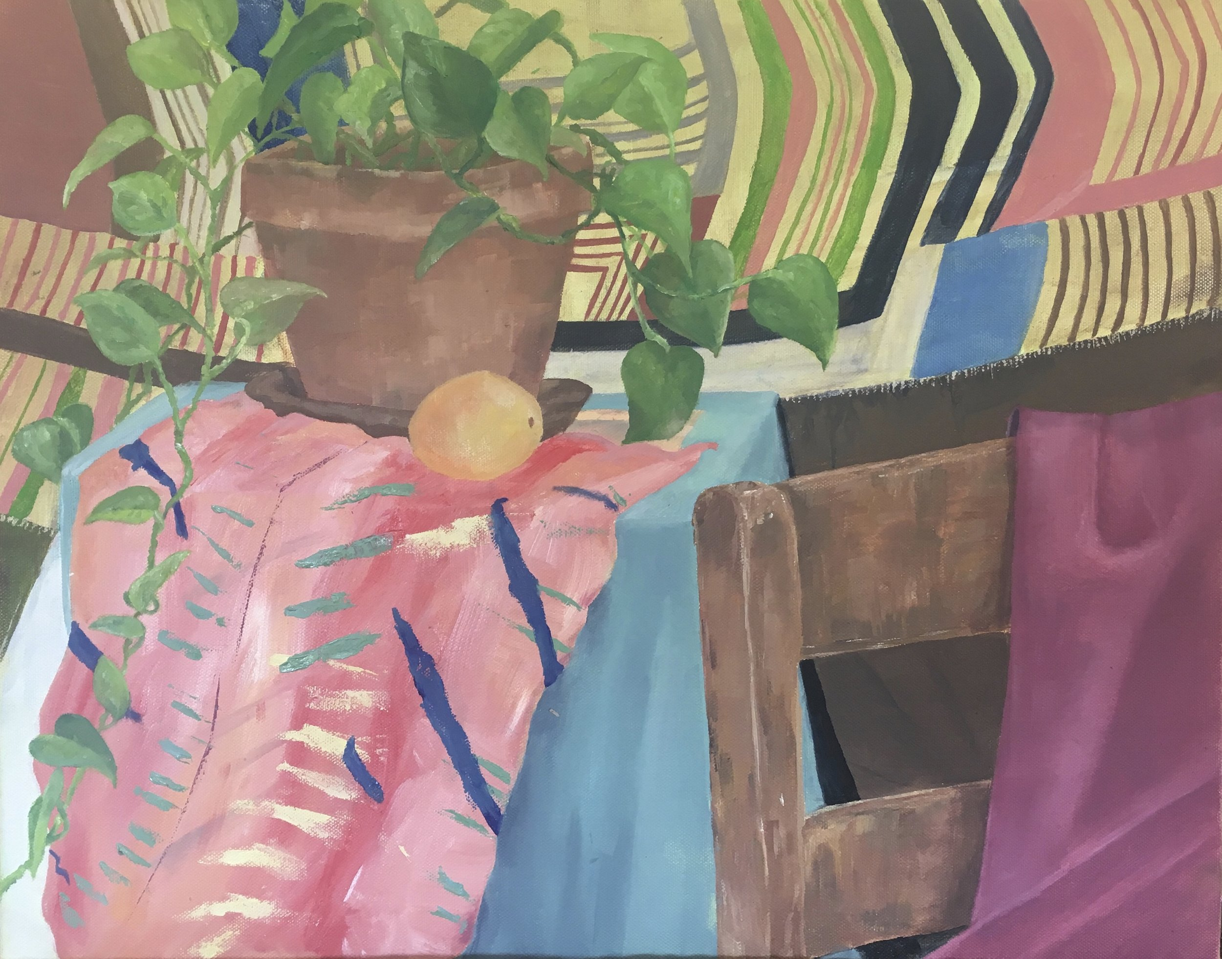Catherine Owens,  Still Life with Pattern