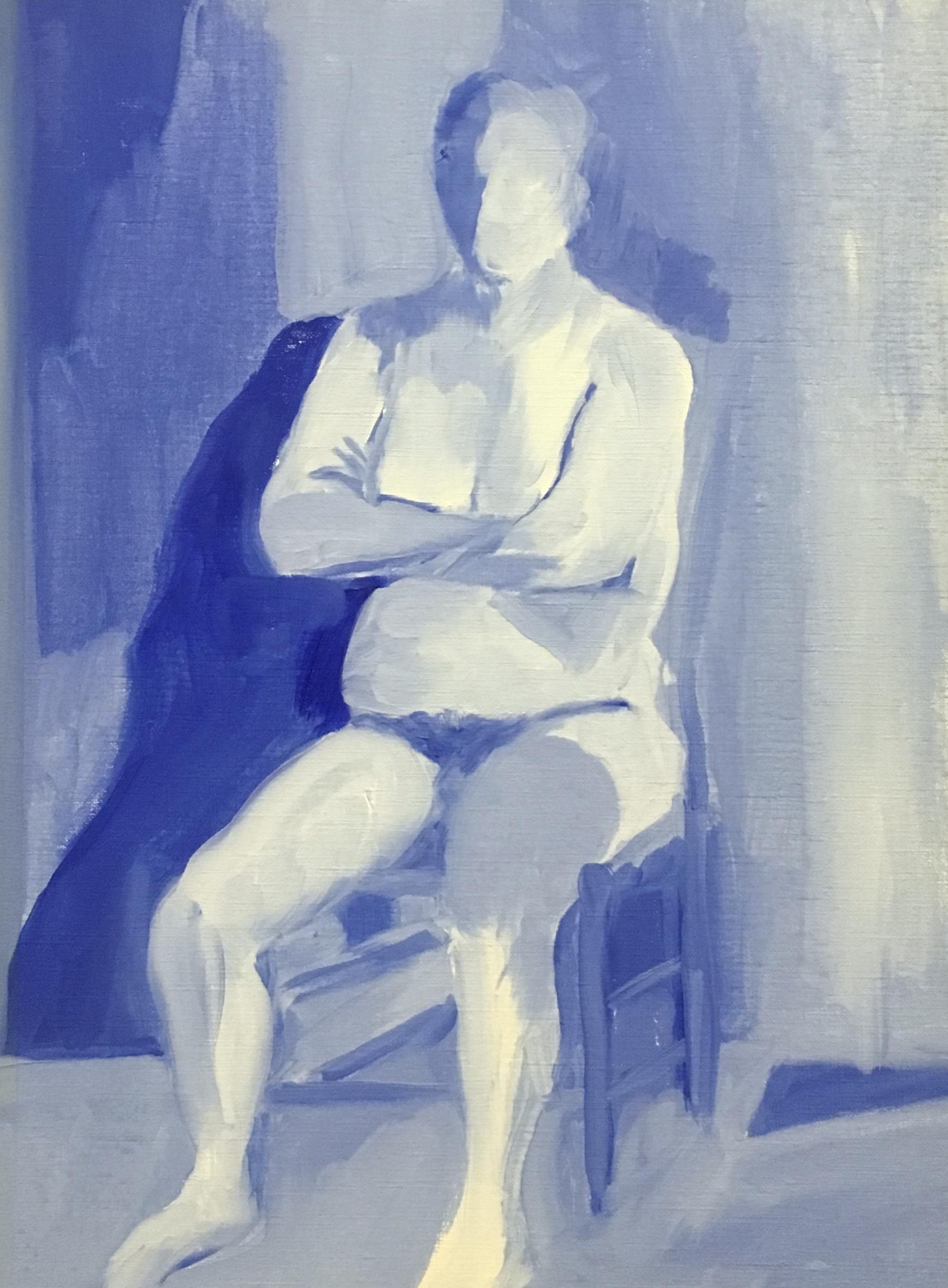 Sarah Frisken,  Monochrome Figure Study