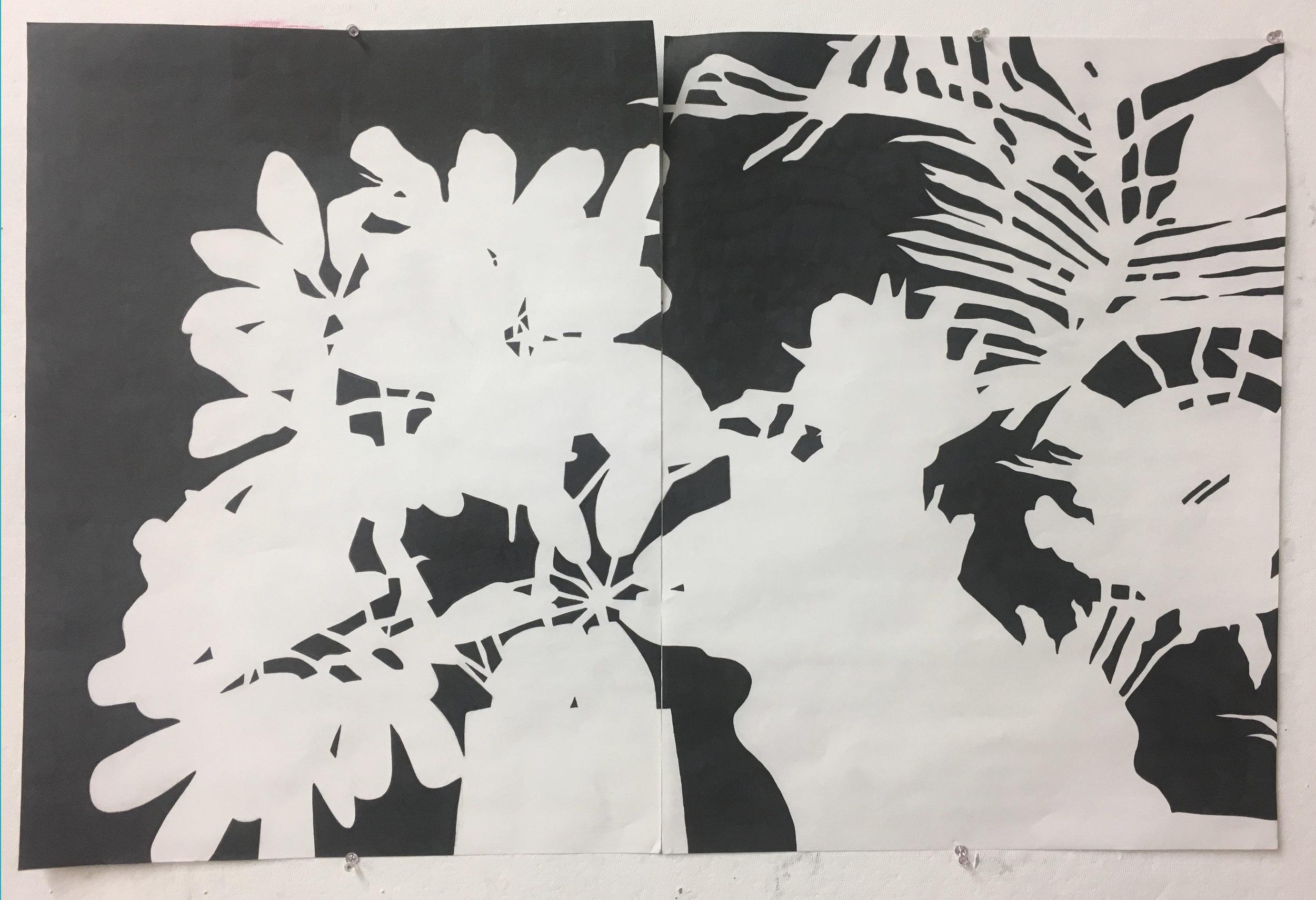 Madison Wallace,  Negative Space, Plants