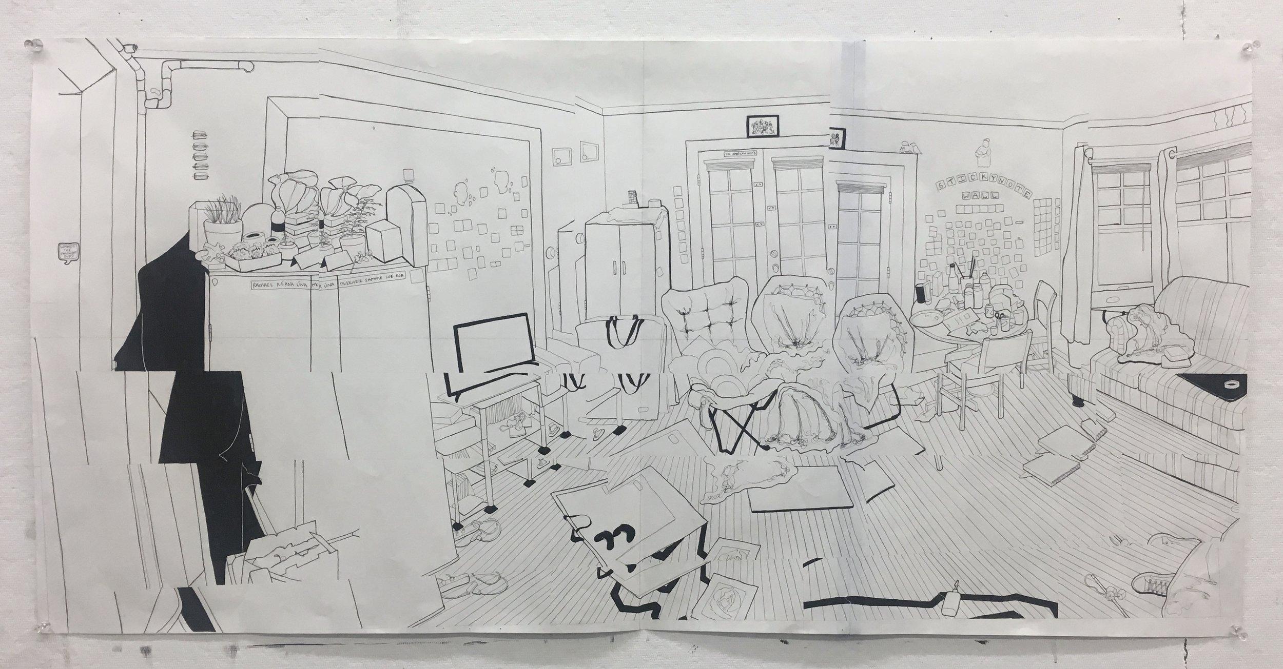 Rebecca Odendahl,  Interior Distortion