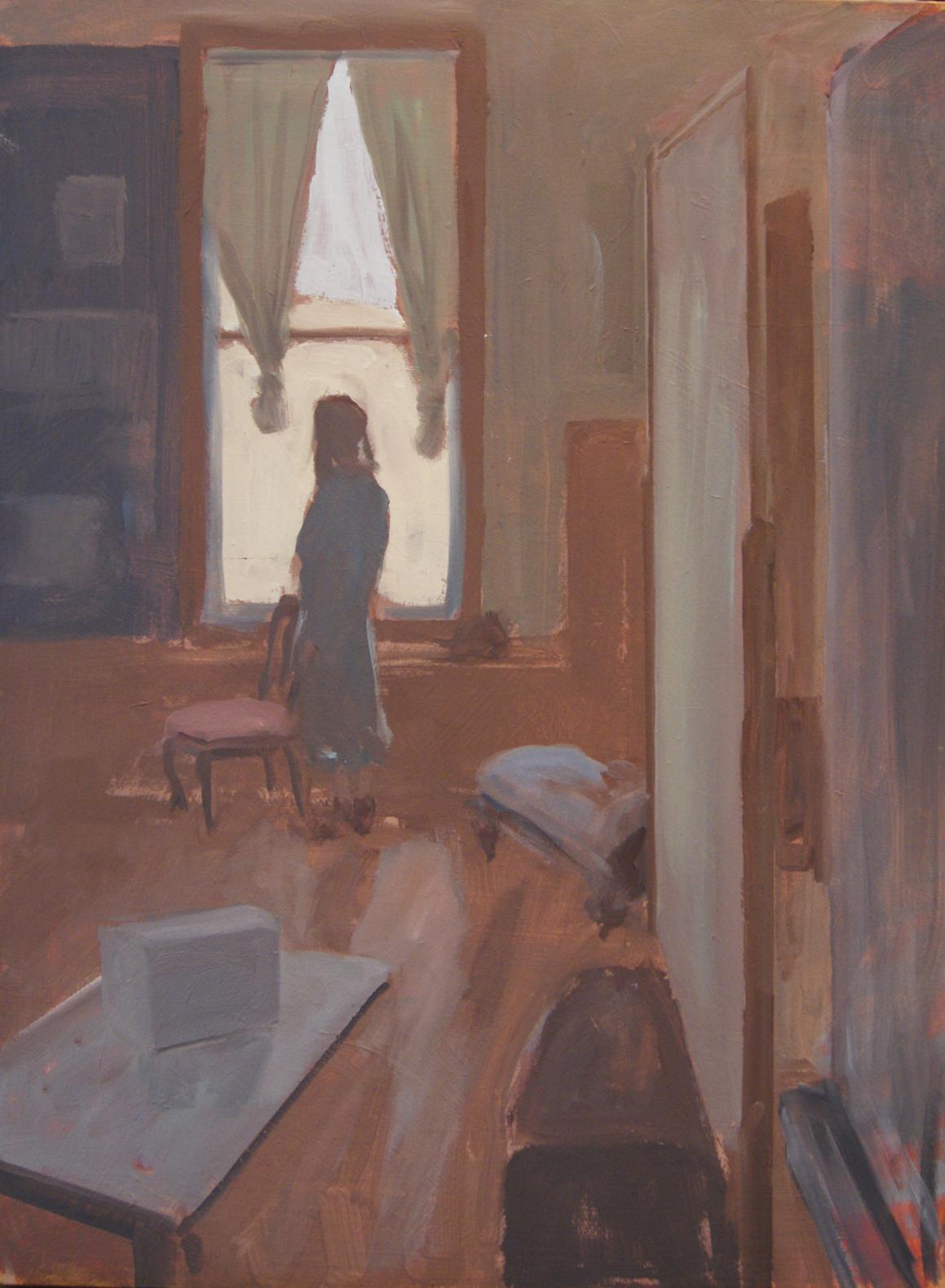 Larry Griggs,  Figure by Window