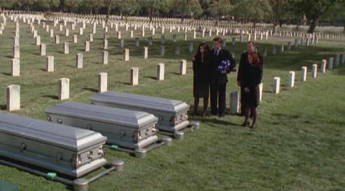 Did no one check the caskets? Come on guys, you're normally all over this kind of chicanery!