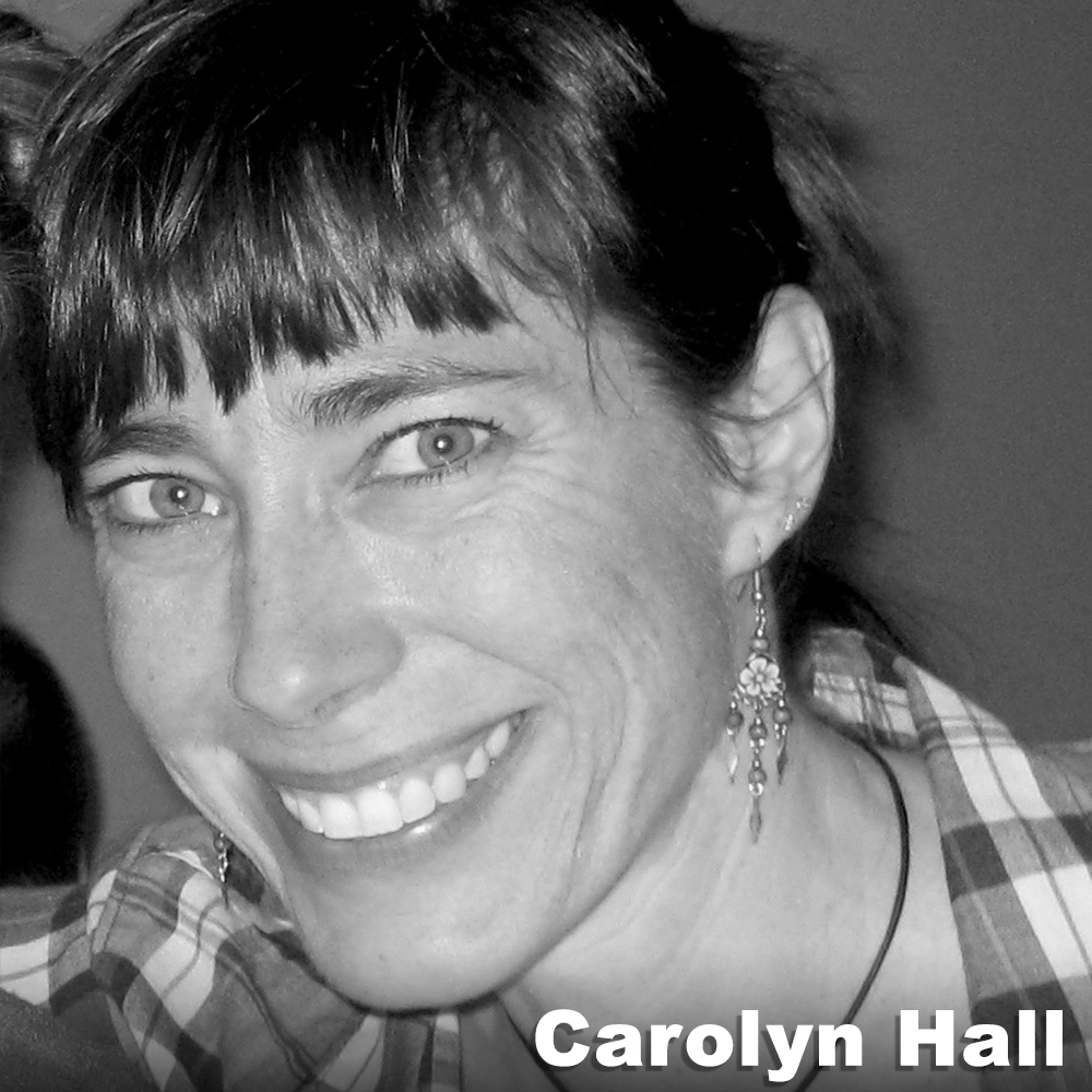 """Carolyn Hall  (Performer) is a Brooklyn-based freelance dancer/performer, historical marine ecologist/researcher, and communications instructor. As a dancer she has worked with numerous national and international choreographers and companies and received a New York Dance and Performance """"Bessie"""" Award for performance in 2002. Long-term collaborations include Lionel Popkin Dance, Carrie Ahern Dance, Third Rail Projects, and Clarinda Mac Low/TRYST. As a marine ecologist she has worked as an independent researcher for the Wildlife Conservation Society, with an academic team studying fish and the coastal ecosystem of the northeast U.S., and is the research assistant and fact checker for the best selling author Paul Greenberg (Four Fish). She is also on the boards of iLAND and Culture Push and is involved with the eco-artist group Works on Water. She is increasingly invested in combining her artist and scientist halves to make data-rich science more understandable, embodied, and memorable for the general public."""