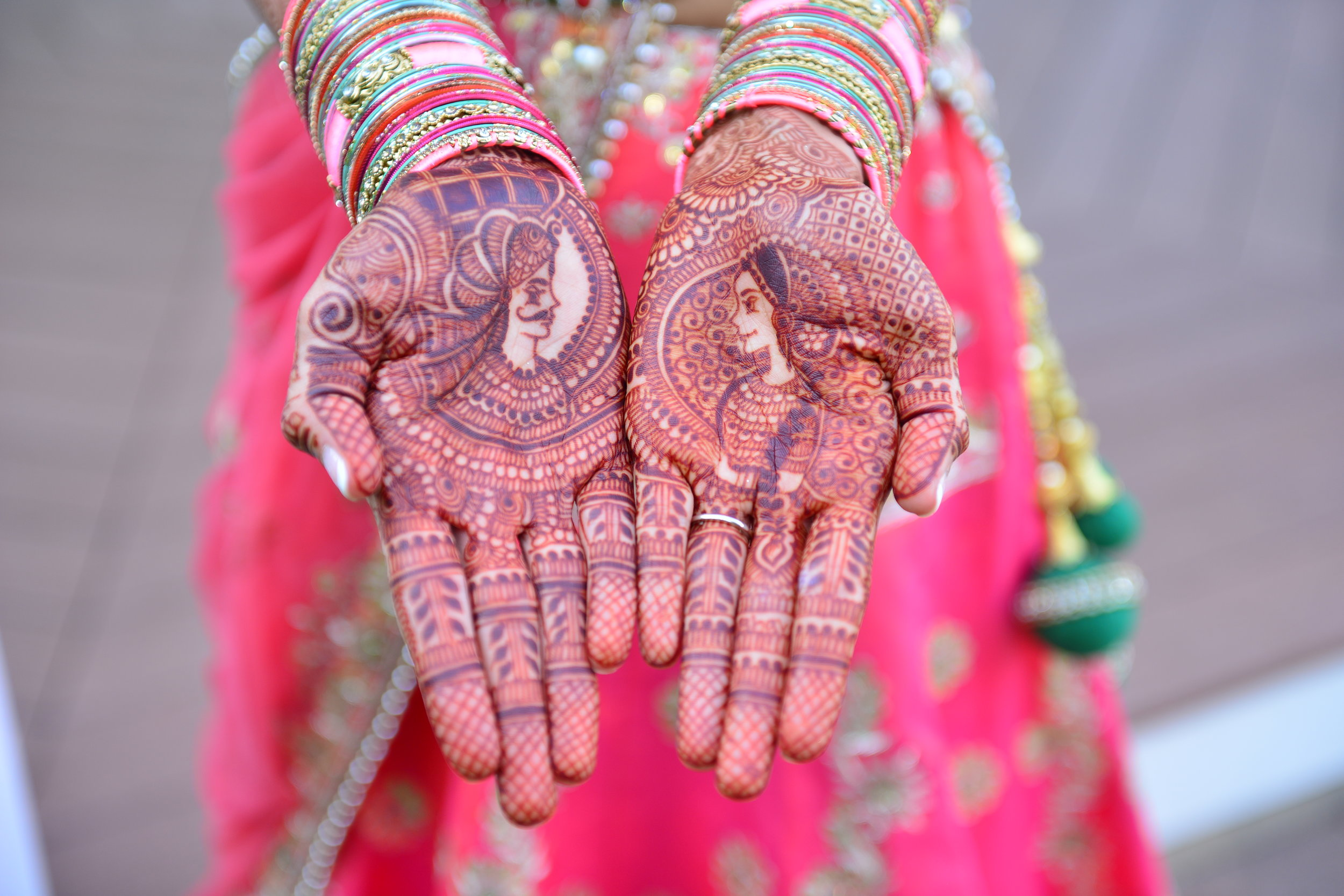 2.2.17 - It's a typical Indian tradition to hide the groom's name in the bride's henna...can you find this groom's name_ Hint- his name is Bhavin.jpg