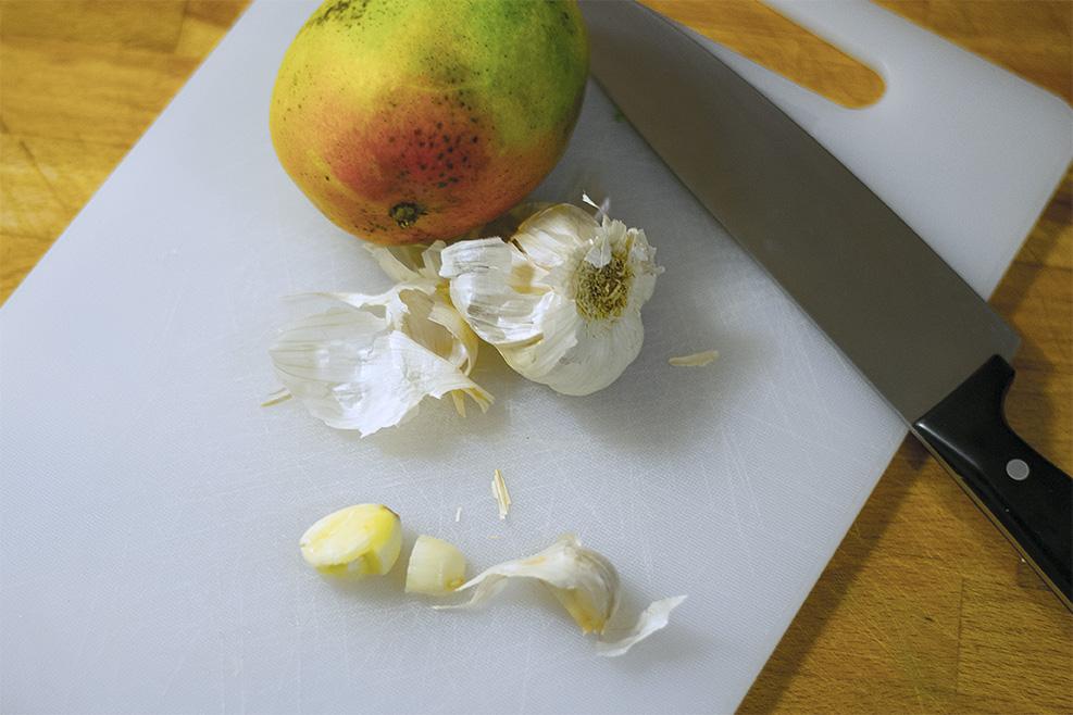 Garlic for the Chimichurri