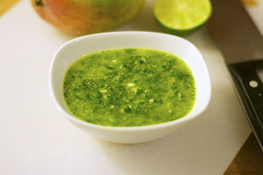 Pulse a few times and the Chimichurri is done!