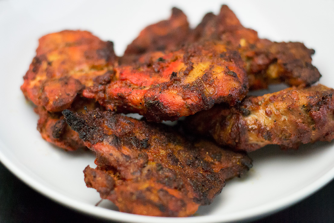 Finally! We have arrived! Look at this gorgeous Tandoori chicken!