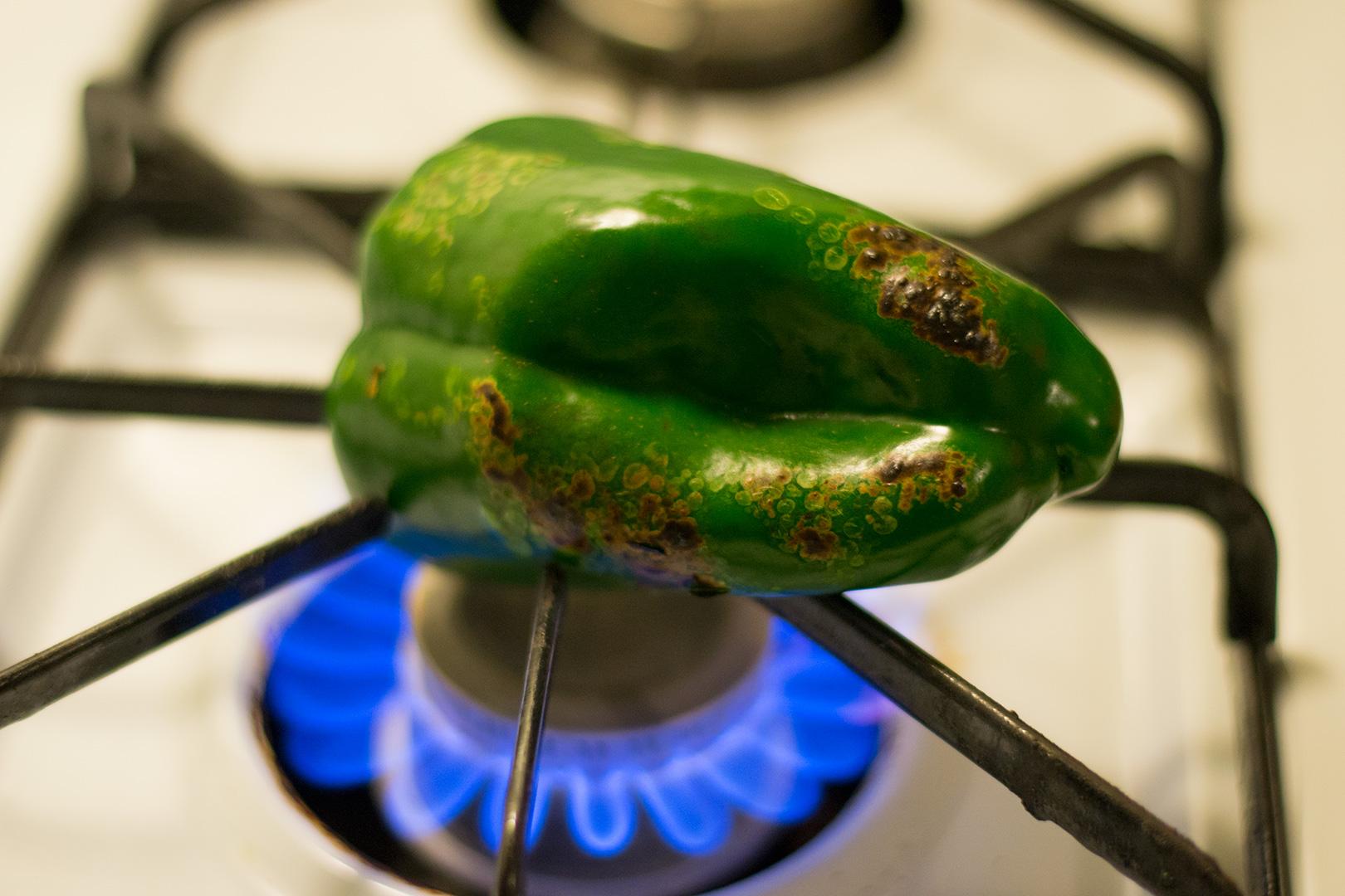 Fire roasted Poblano