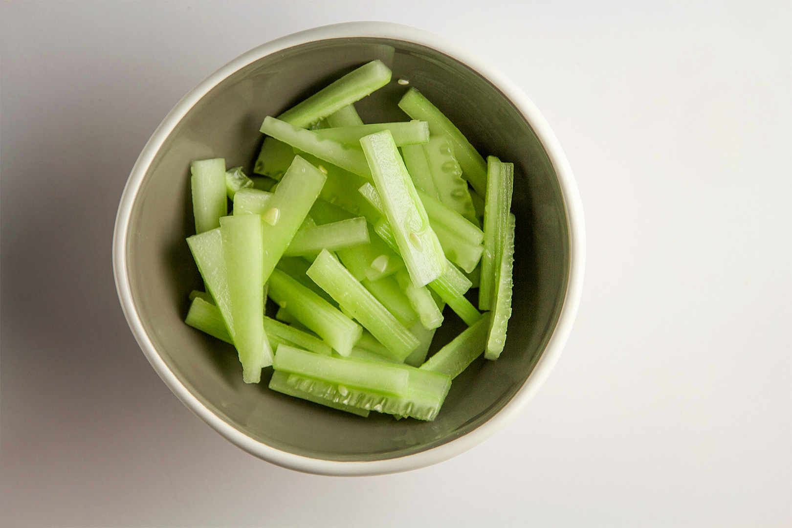 Thin-sliced Cucumber
