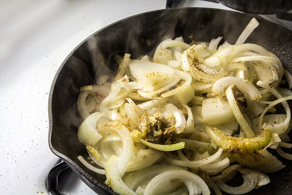 Onions and ginger