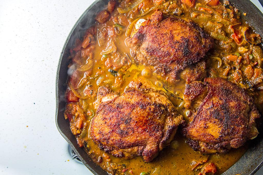Roast Chicken Stew