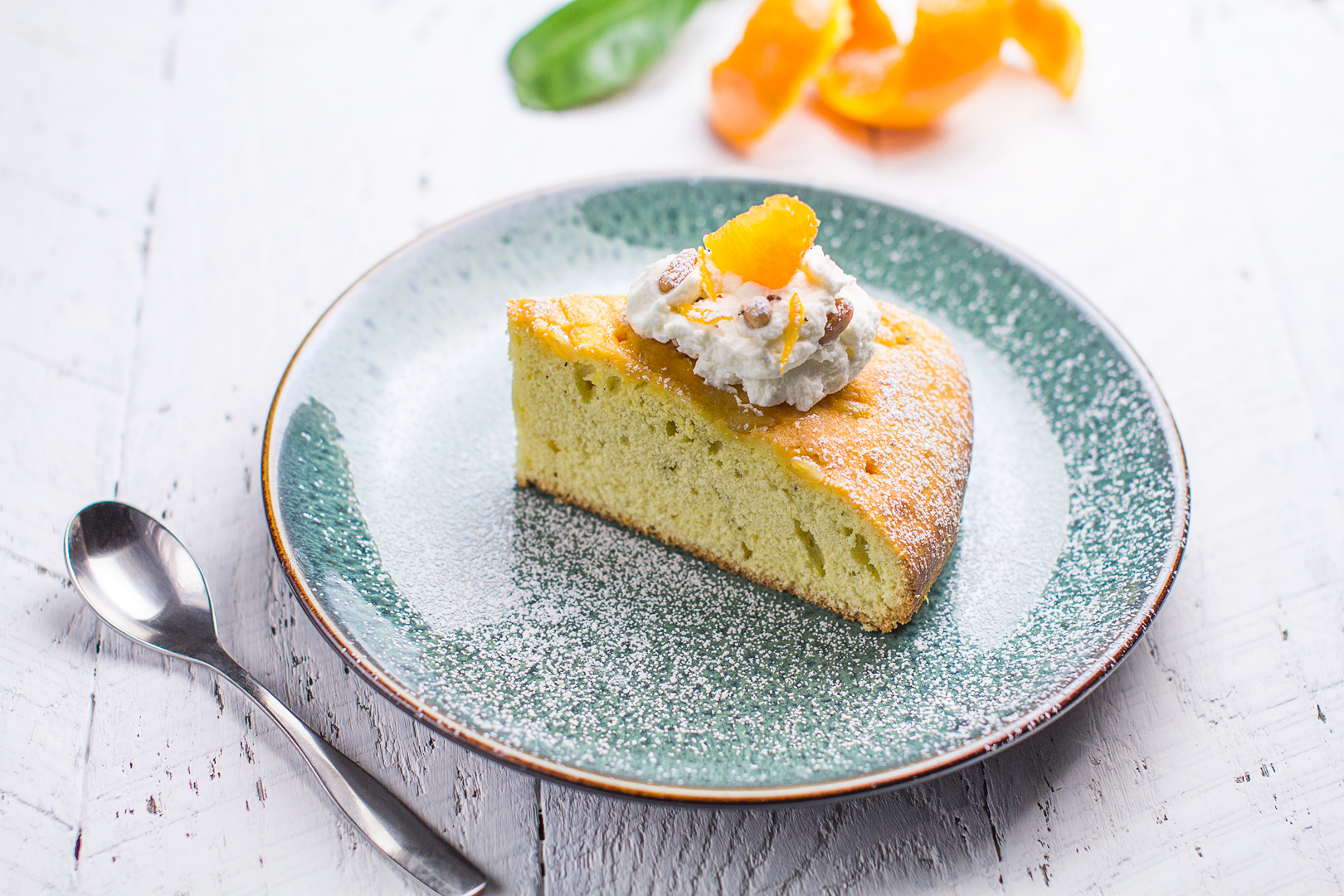 Satsuma and Cardamom Torta
