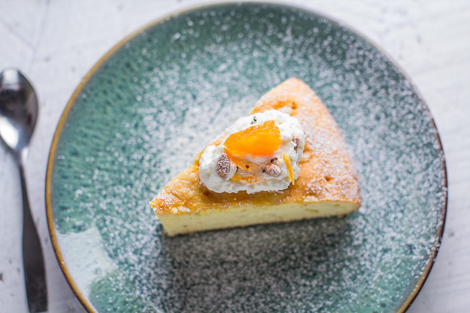Satsuma and Cardamom Torta — the details