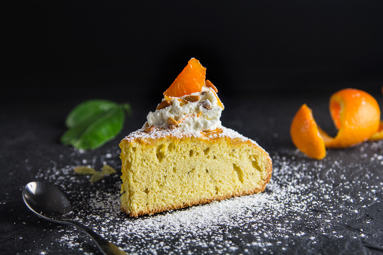Satsuma and Cardamom Torta— Decadent
