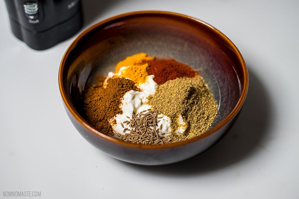 Tandoori Cauliflower Grilled Indian Spiced Kebabs