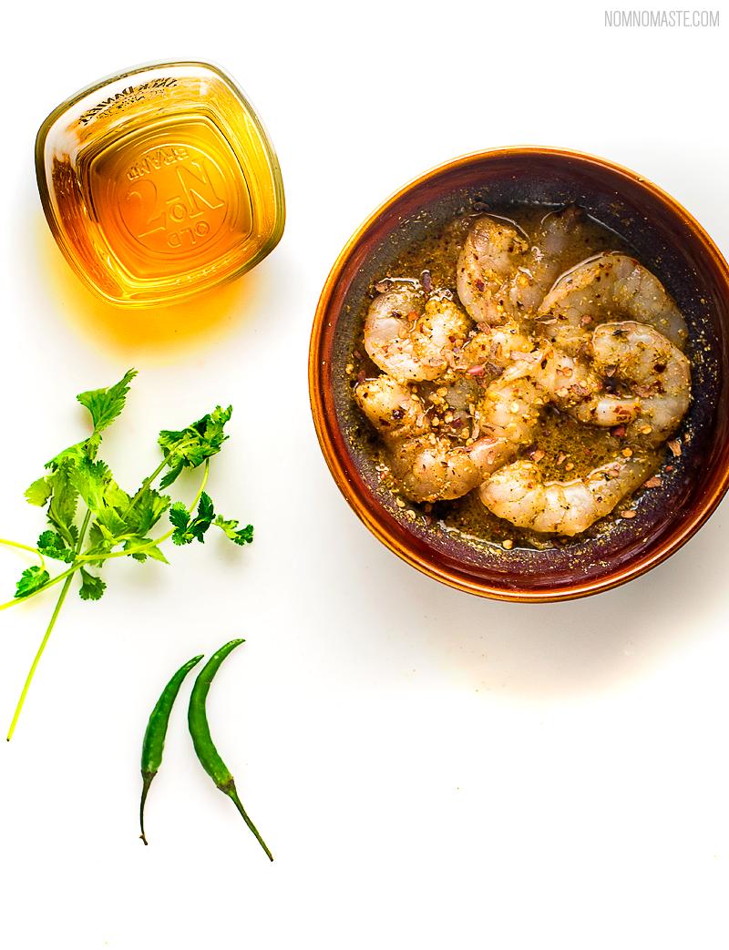 Jack-Daniels-Whisky-Shrimp-Spicy-Tacos-Indian_1_saynomaste