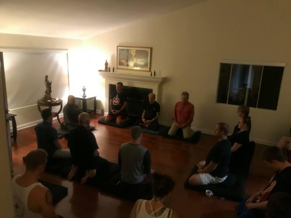 Zazen at Carlsbad Zen Community