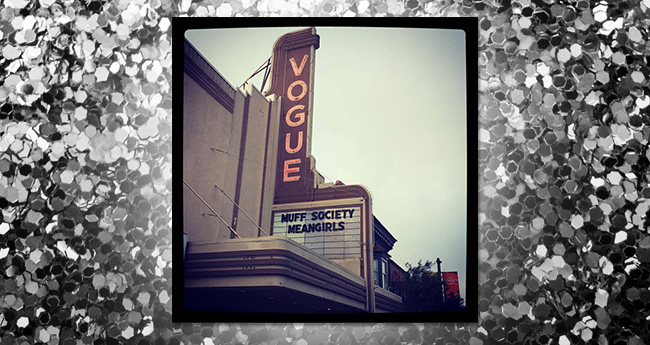 """Seeing """"MUFF"""" on a marquee never gets old"""