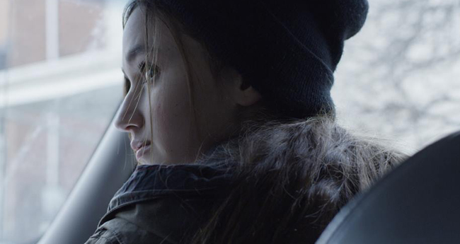 film still from Flower Girl