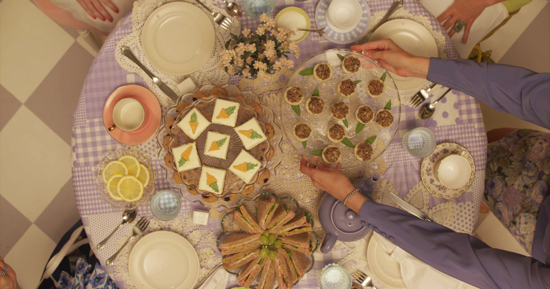 film still from Penny's For Tea