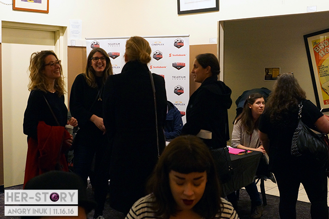 REBECCA | REEL CANADA | HER-STORY event booth