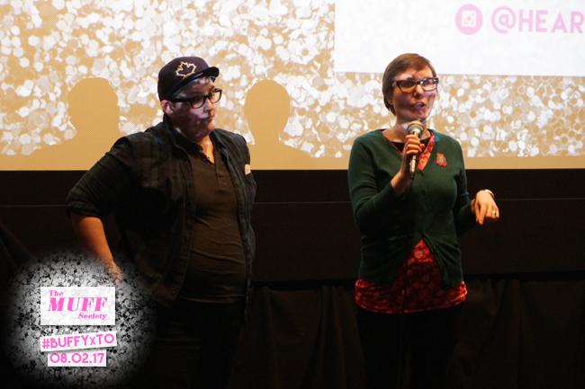 Laura Vegys introducing her short film Olivia!