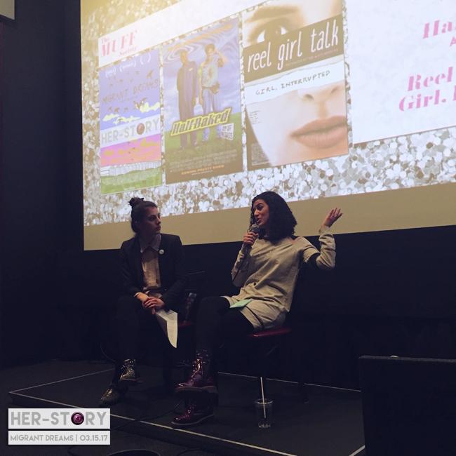 HER-Story producer Jenn and filmmaker Leila Almawy.